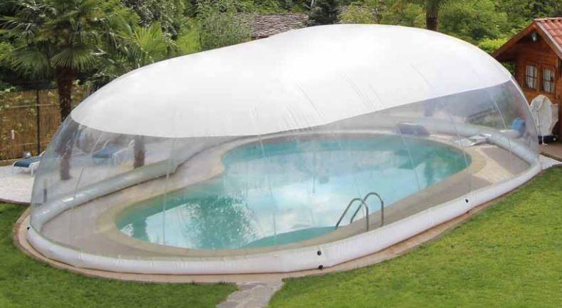 Copertura gonfiabile per piscina cristalball wht - Poltrone gonfiabili per piscina ...