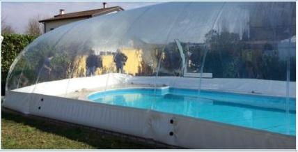 Copertura Gonfiabile per piscina CristalBall mod. SOLAR